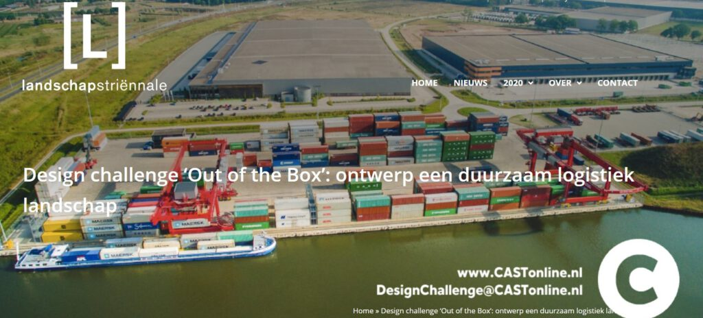 OTO selected to work on design challenge Logistic Landscapes